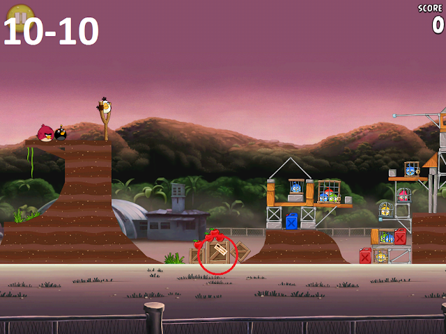 Angry Birds Rio - Airfield Chase 10-10