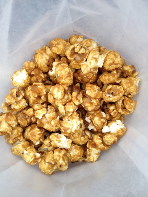 Caramel Corn in Germany at Epcot - Walt Disney World