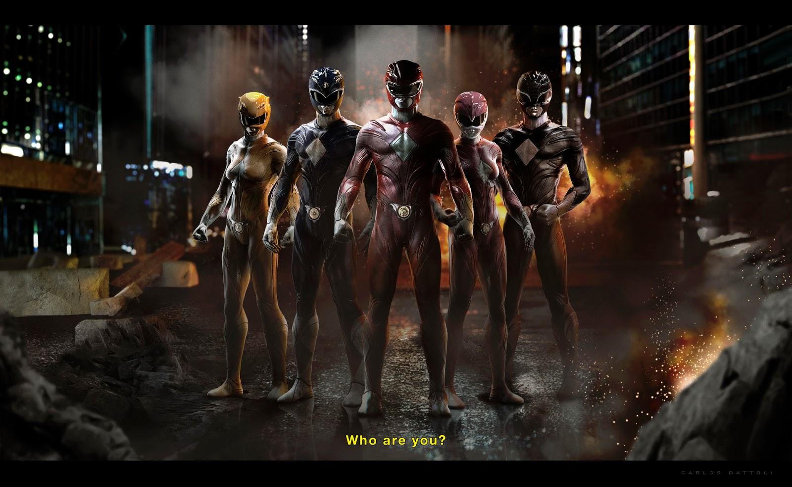 Carlos Dattoli Power Rangers
