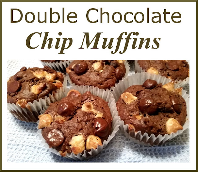 Eclectic Red Barn: Double Chocolate Chip Muffins