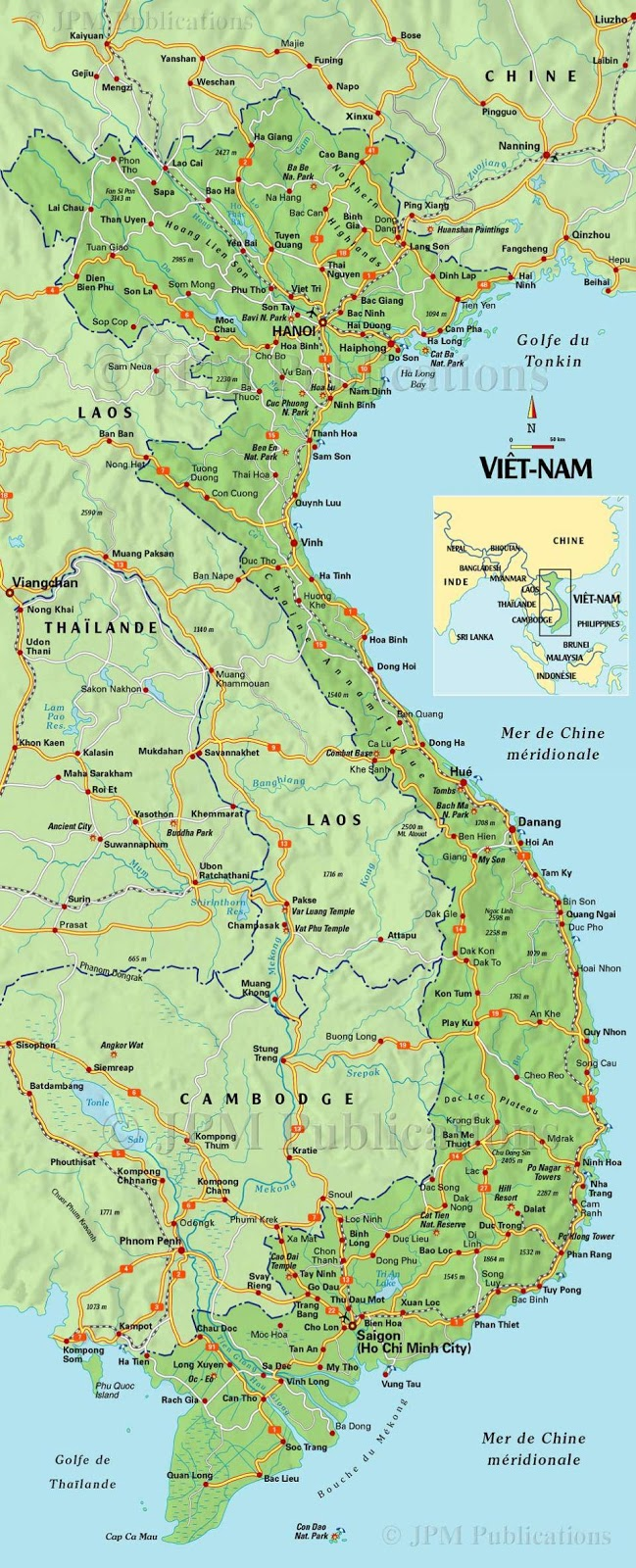 circuit vietnam vietnam du sud. Black Bedroom Furniture Sets. Home Design Ideas
