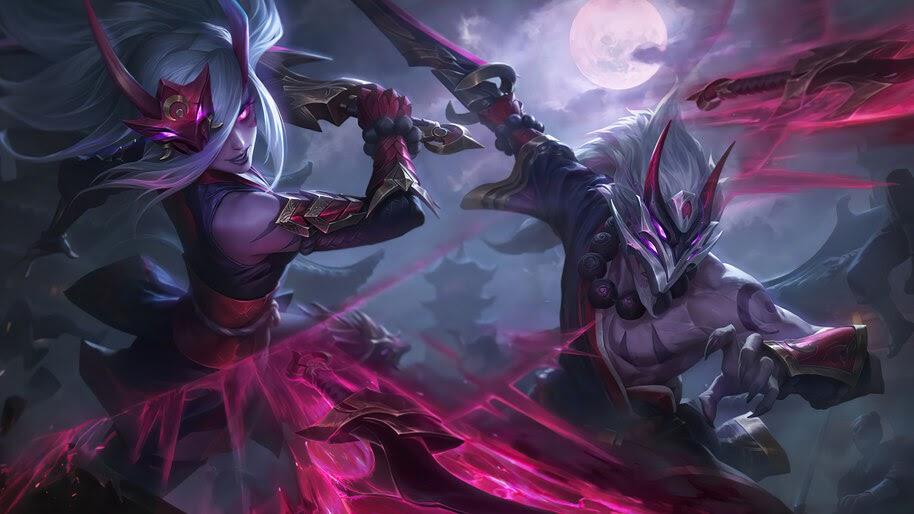 Blood Moon, Master Yi, Splash Art, 8K, #7.1055