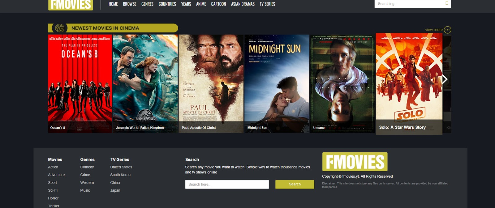 Top Ten Best Streaming Sites To Watch Free Movies And Tv -1643