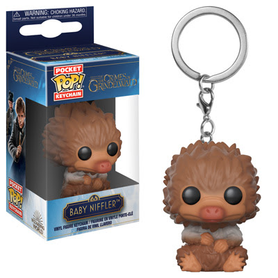 Showcase your love for the Wizarding World, and amp up the cuteness of your keys with Baby Niffler Pop! Keychains!