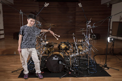 "Tomohisa ""Soopy"" Suzuki with Pearl Reference Series Kit 1"