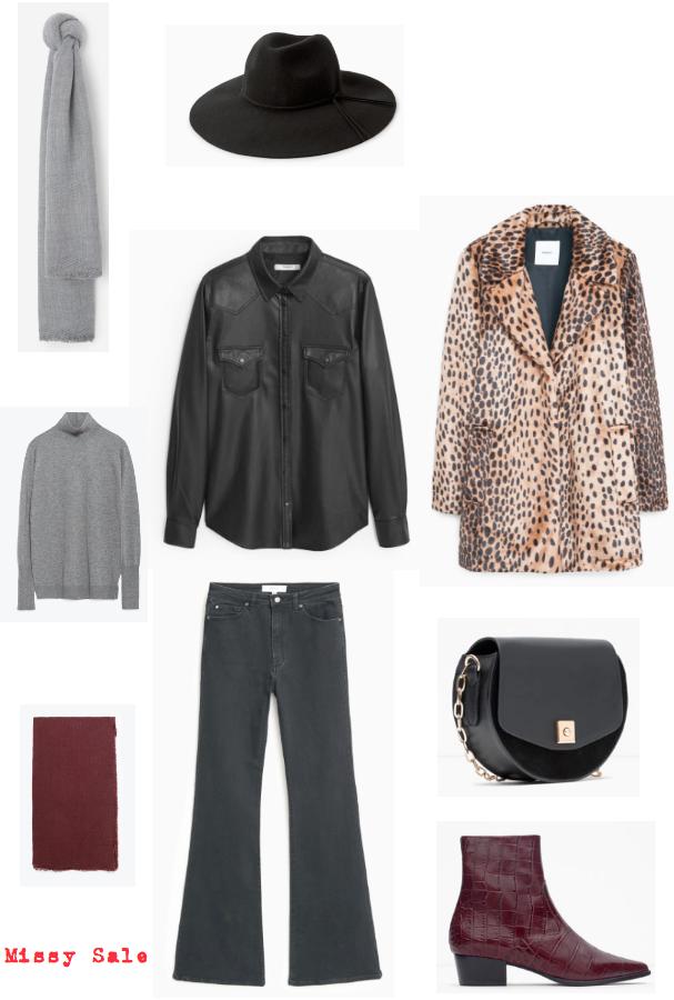 Vestir a los 50 look Kate Moss negro -Missy Sale-