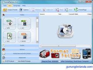 Format Factory - Free Converter Media Format All File