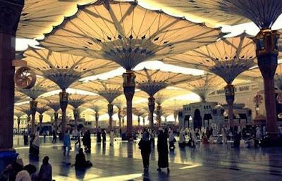 مظلات الحرم النبوي