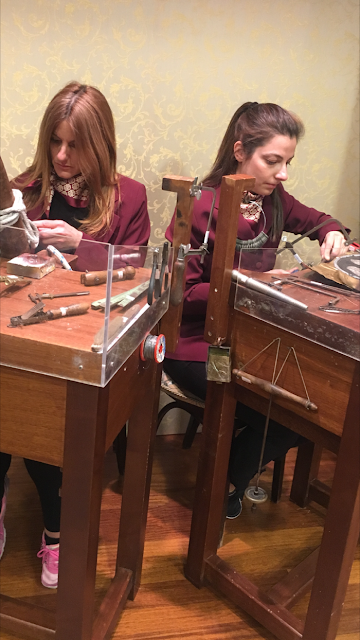 Μουσείο Λαλαούνη:Τα πρώτα εργαστήρια κοσμήματος στην Ευρώπη μέσα σε μουσείο