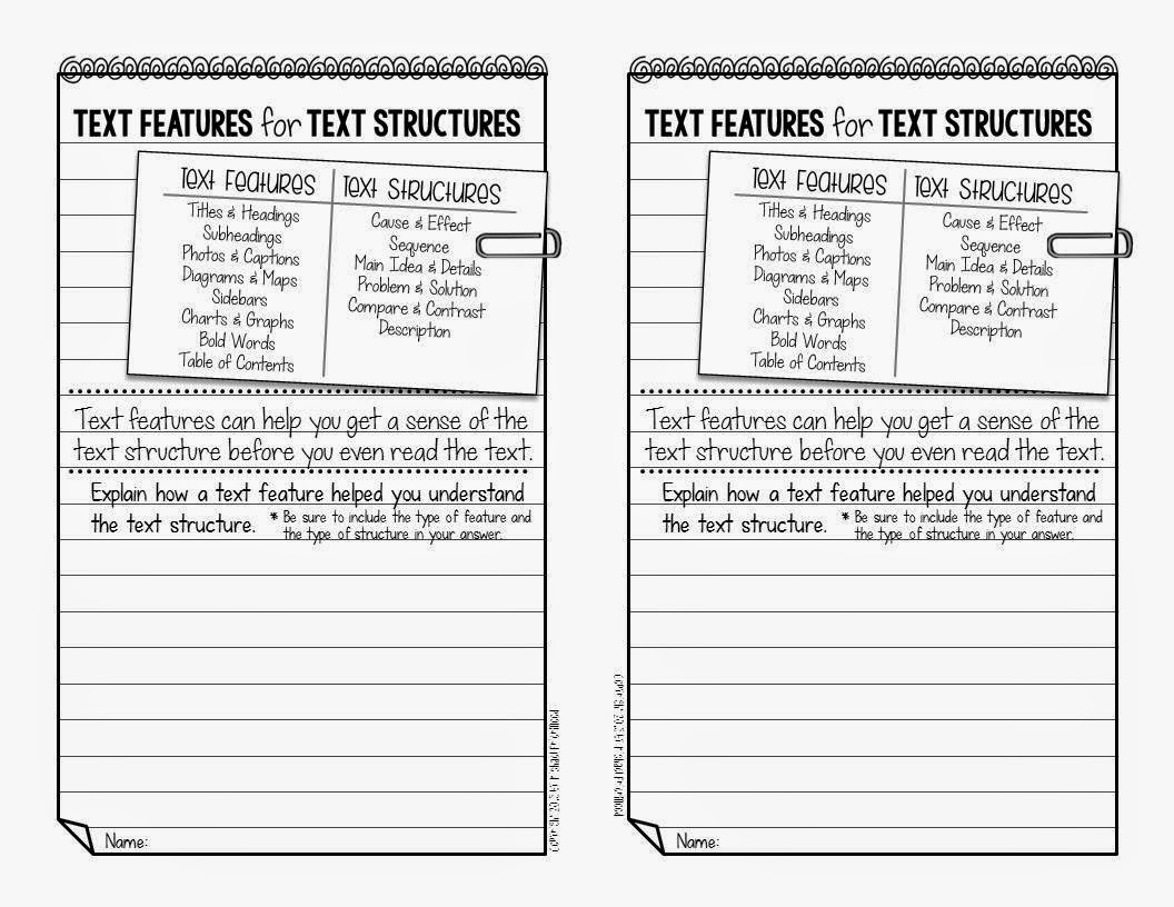 Using Text Features To Understand Text Structures