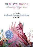 Concierto de Vetusta Morla y Jacobo Serra en la Explanada Exterior Caja Mágica