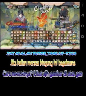 Cara instal Naruto Shippuden Ultimate Ninja Storm 3 di android