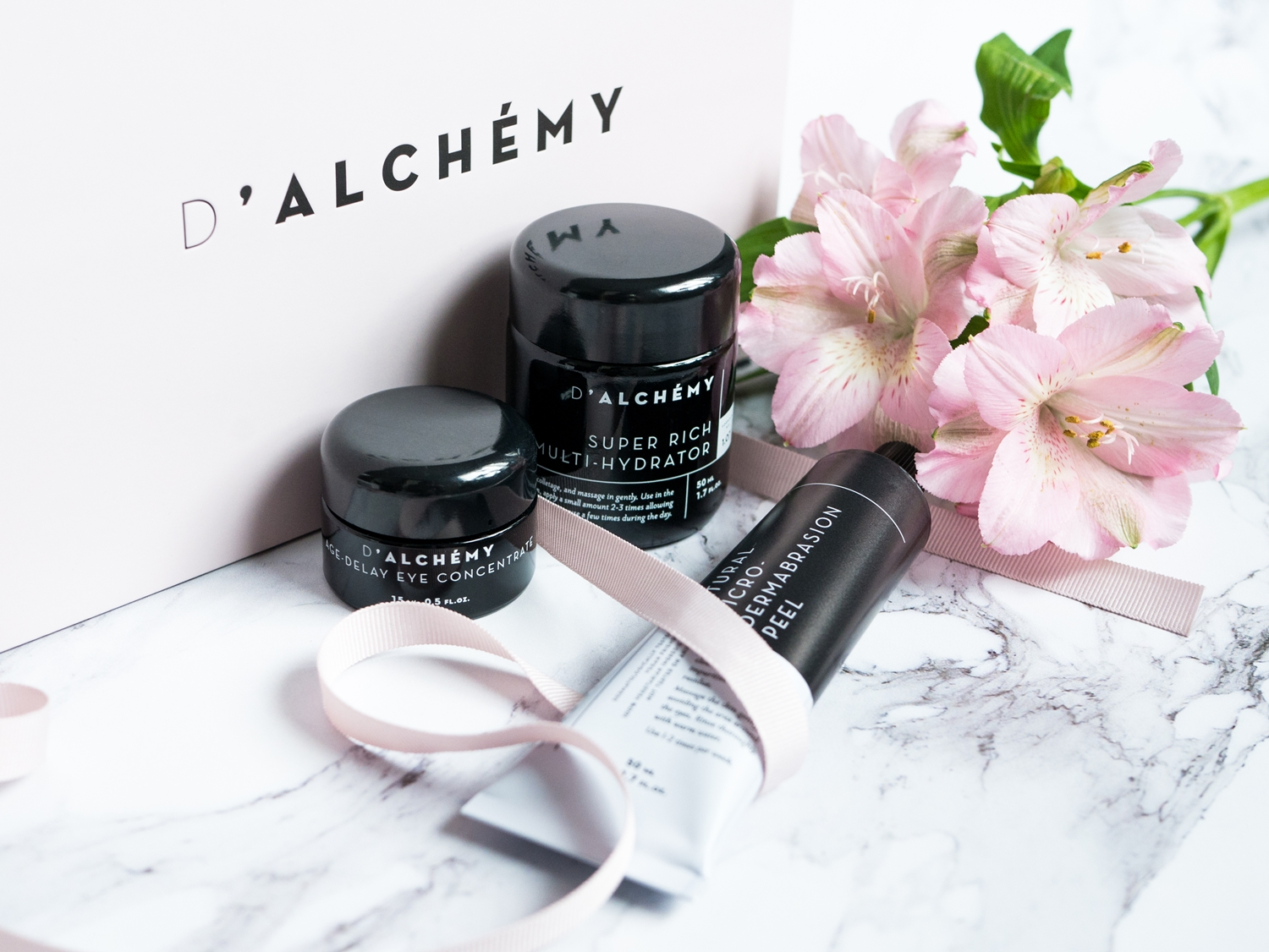 D'Alchemy Age Delay Eye Concentrate Super Rich Multi Hydrator Natural Micro‑Dermabrasion Peel