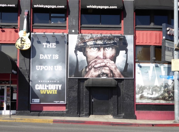 Call of Duty WWII billboard