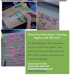 Play Doh Math Packet