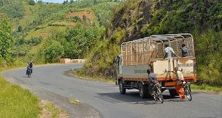 Traveling in Gitega, Burundi