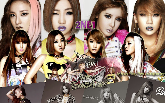2NE1 NEW EVOLUTION