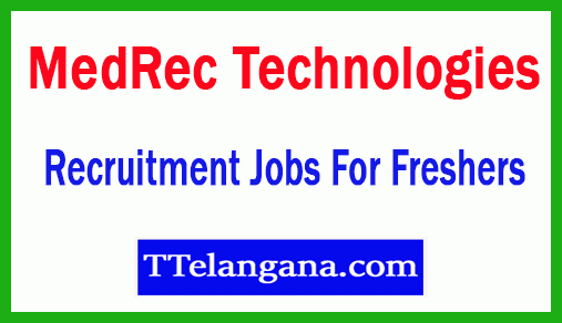 MedRec Technologies Recruitment Jobs For Freshers Apply