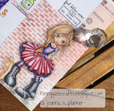 planner-stamping-tutu-girl-decorated-pages