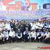 Upacara peringatan Hari Perhubungan Nasional (Harbubnas) ke-47 tingkat Kabupaten Dharmasraya berlangsung khidmat.