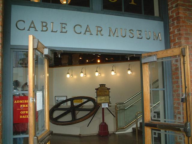 Entrada do The Cable Car Museum San Francisco