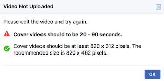 Mengganti Foto Sampul Facebook Menjadi Video