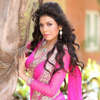 Aanchal Soni in Pink Saree