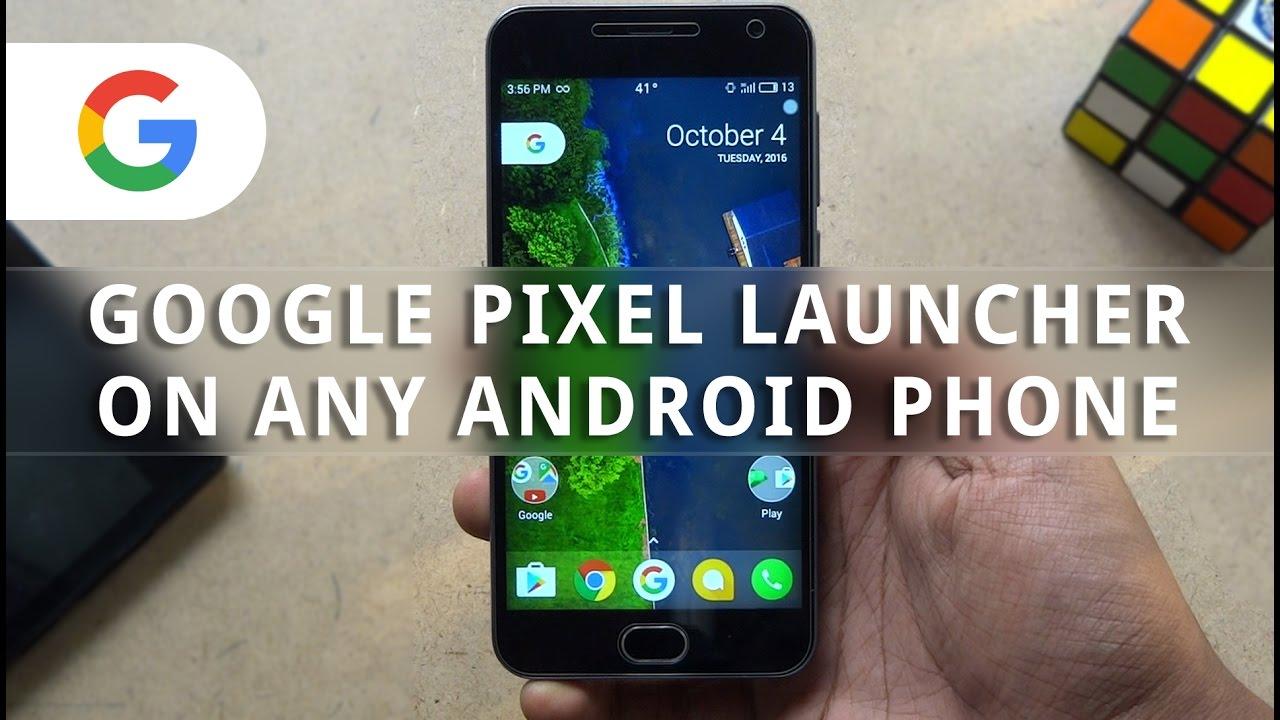 google pixel launcher apk 2019