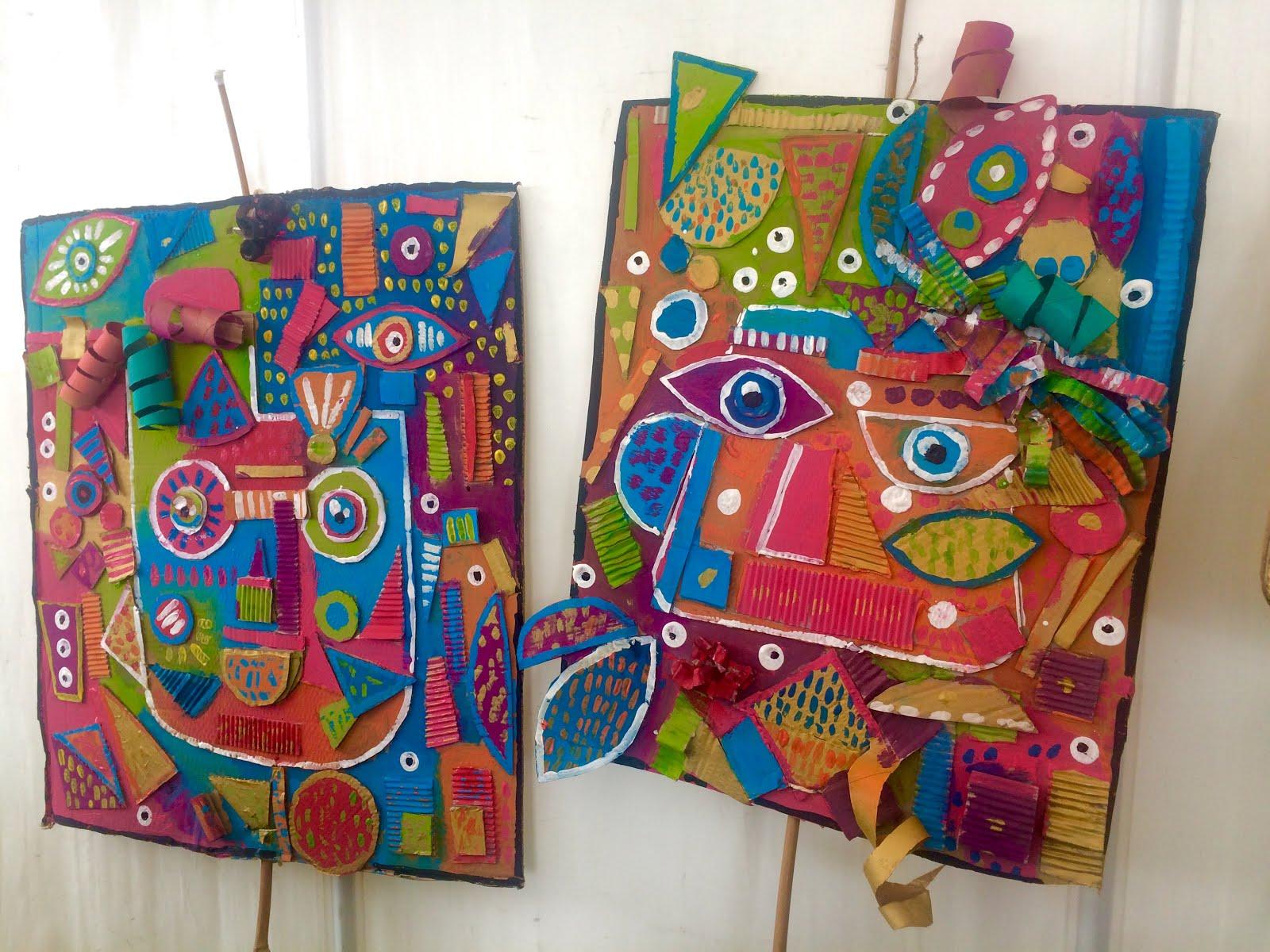 Les Ateliers Artifun Atelier D Arts Plastiques Et Loisirs Creatifs En Guadeloupe Grands Masques Carnaval 2019