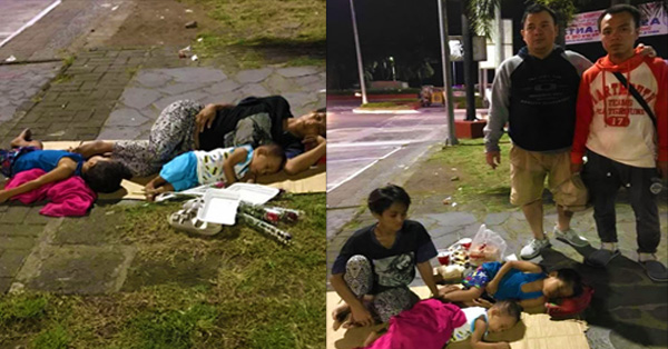 A Man Found A Homless Mother With Her Children Sleeping In The Streets Then What The Man Did Wuill Make You Salute Him