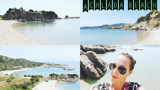 Travel video ACHLADA BEACHand Best Sarti beaches