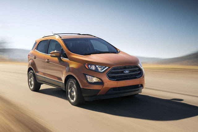 All New 2017 Ford EcoSport Orange pics
