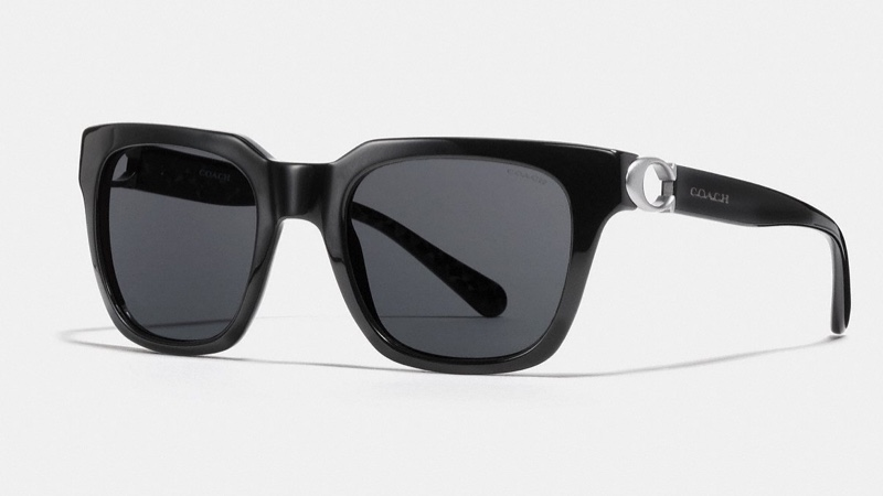 Coach Signature Hardware Square Sunglasses