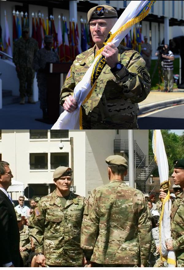 미국 특수전사령관 40년 군생활 끝나는 날