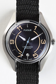 Montre Fugue Chronostase Vintage Navy