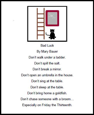 Artistry of Education: Friday the Thirteenth List Poem