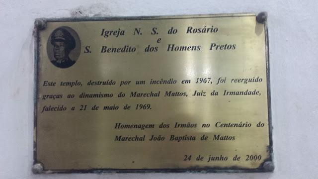 Igreja de Nossa Senhora do Rosário, Rio de Janeiro.