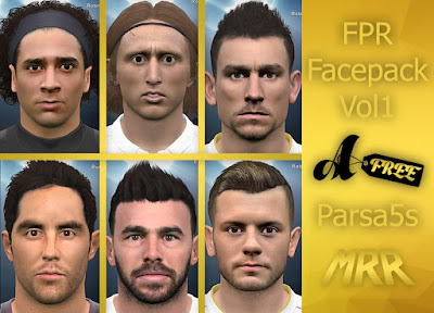 PES 2016 FPR FacePack vol.1 By FPR Group