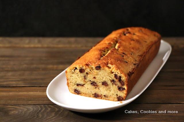 Saftiger Bananencake ohne Nüsse mit viel Schokolade