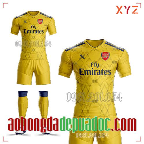 Áo Arsenal 2019 Training Mẫu 1