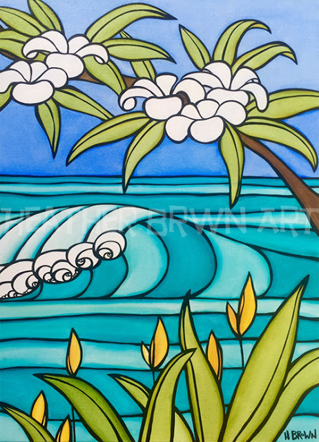 iconic surfing art