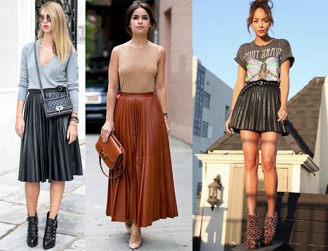 saia plissada trend alert moda