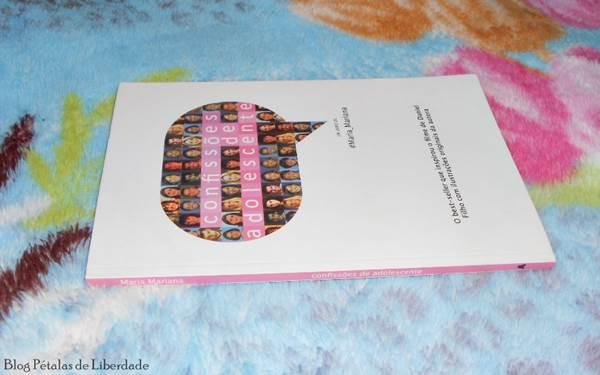 Resenha, livro, Confissões-de-adolescente, Maria-Mariana, opiniao, fotos, trechos
