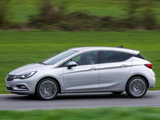 Novo Opel Atra 2017