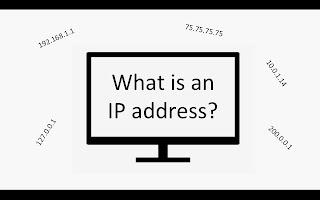 cara mengetahui ip address dengan internet