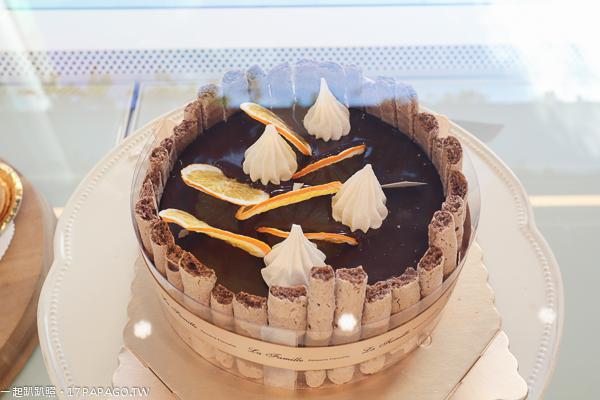 《台中.西區》La Famille法米勤美誠品店|法式甜點|法式喜餅|每一樣都好想吃