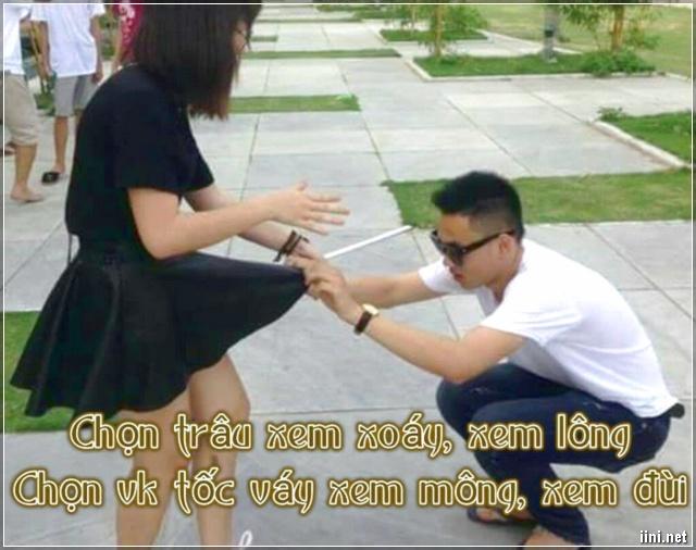 thơ vui chọn vợ