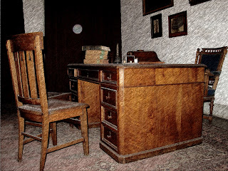 Mobília Antiga no Museo de la Cidad, Buenos Aires