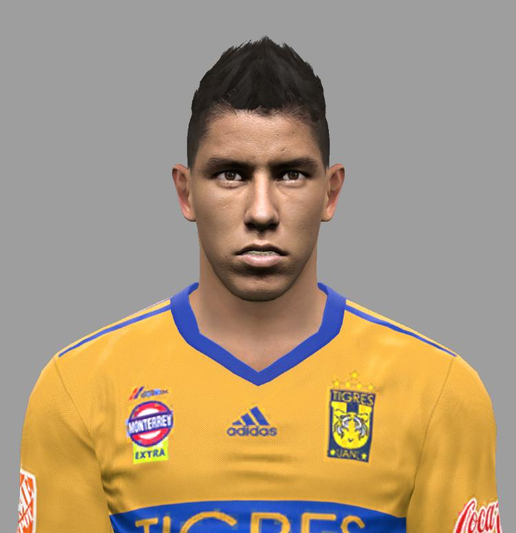 PES 2017 Hugo Ayala (Tigres) Face by Facemaker DanielValencia_EA