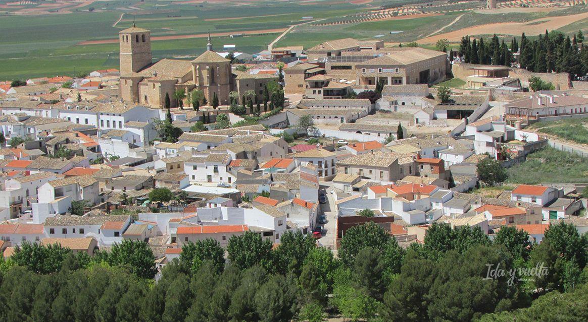 Castillo de Belmonte vista